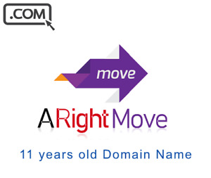 Arightmove com Premium Brandable Keyword Domain Name For Sale 11 Years Old