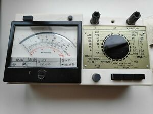 Soviet Tester Ts4353 Multifunctional Electrical Measuring Device Ussr Vintage