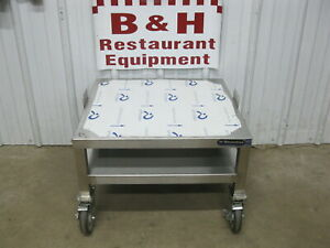 25 X 23 3 4 Heavy Duty Mobile Stainless Steel Equipment Stand Base Table 2 1
