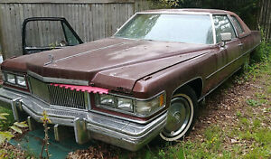 Engine 1976 76 Cadillac 500 Ci V8 Engine And Trasmission Or Make Offer For Car