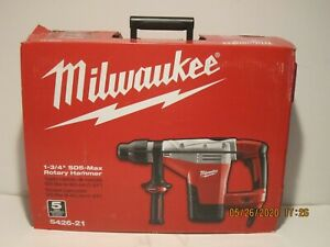 Milwaukee 5426 21 1 3 4 Sds max Rotary Hammer Drill Kit New In Box Free Ship