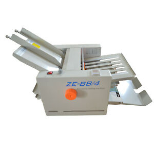 Adjustable Paper Folding Machine Send Paper Fluently Paging Automatically 110v