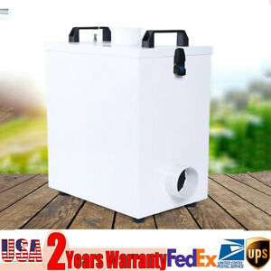 Pure Air Fume Extractor Smoke Purifier 80w For Cnc Laser Engraving Machine Usa