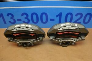 2010 Mb W212 W218 E63 Cls63 Amg Brembo Front Driver Passenger Brake Calipers