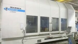 Cnc 5 Axis Vertical Machining Center X Y Z A B Axis Cat 50 New 2009 5000 Rpm