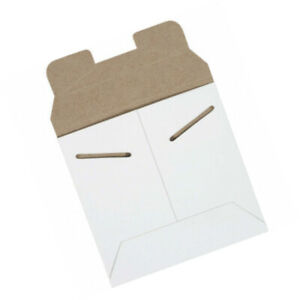 Stayflats Tab Lock Mail Mailing Envelopes Mailers 5 1 8 X 5 1 8 White 200 Pack