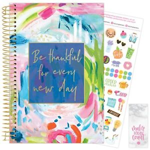 2021 Cleerely Stated Inspirational Calendar Year Daily Planner 12 Month Jan dec