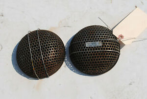Pair Of Vintage Weiand Air Cleaners For Su Carbs
