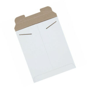 Stayflats Tab Lock Mail Mailing Envelope Mailers 9 3 4 X 12 1 4 White 100 Pack