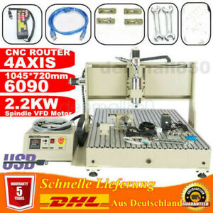Usb 4axis Cnc 6090z Engraving Wood Cutting Metal Router Milling 2 2kw controller