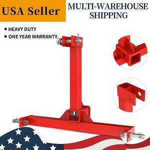 3 Point Tractor Drawbar Trailer Hitch Receiver Attachment Cat 1 Tow Drawbar