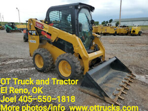 2017 Cat 226d Cab A c Rubber Tire Skid Steer Loader Used
