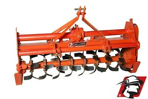 Rotary Tiller 71 Wide Category 1 3 point Heavy Duty Pto Drive For Tractors
