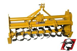 Rotary Tiller 75 Wide Category 1 3 point Heavy Duty Pto Drive For Tractors