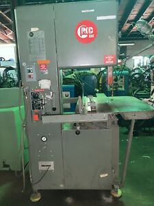 18 Grob Model 4v 18 Vertical Band Saw