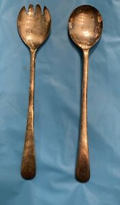 Vintage Serving Utensils Silver Plated Made In England