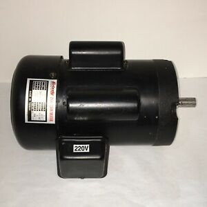 Grizzly Motor 2 Hp Single phase 1720 Rpm 110v 220v