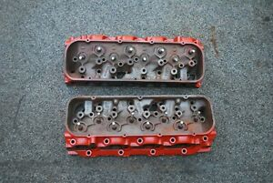 1966 Chevy Big Block Heads Pn 3904390 396 427 With Largest Valves