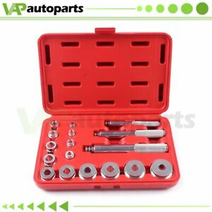 17pcs Bearing Race Seal Driver Installer Remover Tool Set Wheel Axle Bushing
