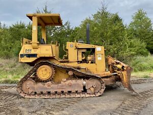 1986 Caterpillar D4h Dozer Nice Good Undercarriage Low Cost Shipping
