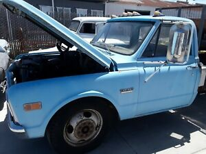 1968 Chevy Gmc Pickup Truck Flat Bed Shipping Not Included