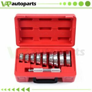 10pc Auto Bearing Race Seal Driver Master Set Wheel Axle Bearings Puller Install