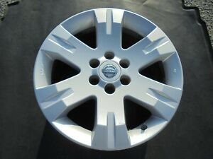 17 2005 To 2007 Nissan Pathfinder 6 Spoke Factory Silver Painted Alloy Wheel