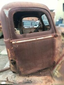 1940 Ford Pick Up Cab Original 1941 1 2 Ton Truck Cab And Doors 1946 Hot Rod 40