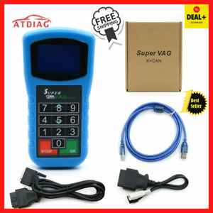 Super Vag K can2 0plus Mileage Correction diagnosis pin Code Reader Super Tester