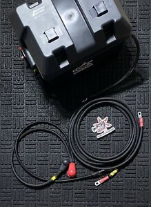 Honda B D Series Battery Relocation Kit With Battery Box