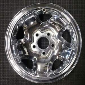 Chevrolet Blazer Chrome 15 Inch Oem Chrome Wheel 1994 To 2000