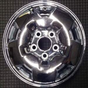 Chevrolet Blazer Chrome 15 Inch Oem Chrome Wheel 1994 To 2005