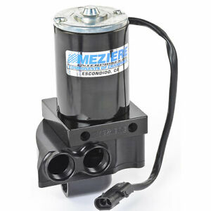 Meziere Universal Black Remote Mount Electric Water Pump P N Wp137s
