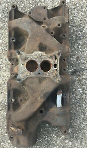Oem 1965 Ford Mustang 289 302 2v Intake Manifold Cast Iron