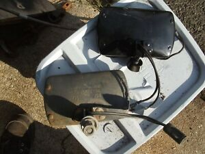 82 Mustang Gt Marchal Driving Or Fog Light Rear Housings