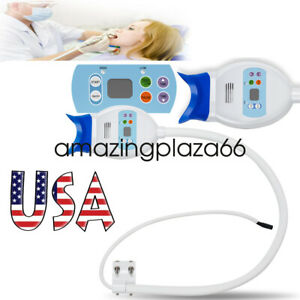 Pro Usa Dental Teeth Whitening Cold Led Lamp Bleaching Accelerator 24w 12v 2a Ce