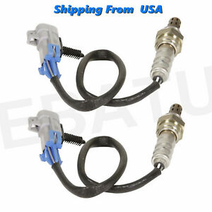 2pcs Upstream Downstream O2 Oxygen Sensor For Chevy 1500 5 3l Gmc 234 4668 Us