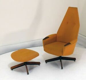 Adrian Pearsall Lounge Chair And Ottoman Vintage Mid Century Modern