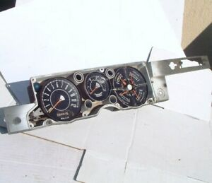 1968 Barracuda Rally Gauges Vacuum Gauge A Body Askonfreeshipng Plymouth Dash