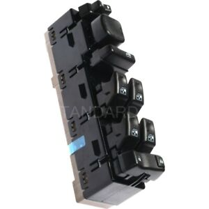 Dws 241 Power Window Switch Front Driver Left Side New Black For Chevy Chevrolet