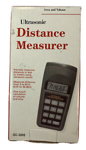 Ultrasonic Distance Measurer Team Safety Gc 3005 Used Works Great