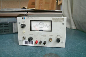 Hp 6291a Variable Linear Dc Power Supply 0 To 40v 5a