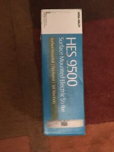 Hes 9500 12 24d 630 Electric Strike Stainless Assa Abloy Lock New Sealed