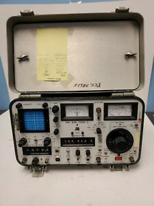 Ifr Fm am 1000s Communications Service Monitor For Parts And Repair Only Read