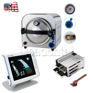 Dental 14l Autoclave Steam Sterilizer Medical Sterilization endo Apex Locator Us