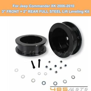 For Jeep Commander Xk 3 Front 2 Rear Full Lift Kit Leveling Kit 2006 2010 Fits Jeep Commander