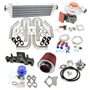T3 t4 Turbo Kit For Mazda Miata 1 8l Mx 5 Na8 Nb Ic Pk Wg Bov Manifold 94 05