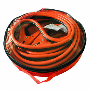 20 Ft 2 Gauge Heavy Duty Power Booster Cable Emergency Car Battery Jumper Us Wfu
