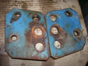 Vintage Fordson Major Diesel Tractor draw Bar Frame Mount Brackets