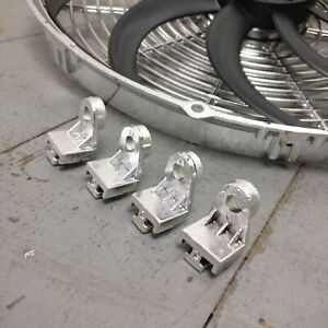 1998 Ford Contour 16 Inch Chrome Radiator Fan Housing 12v Electric Cooling